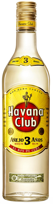 HAVANA CLUB BLANCO 3 anos