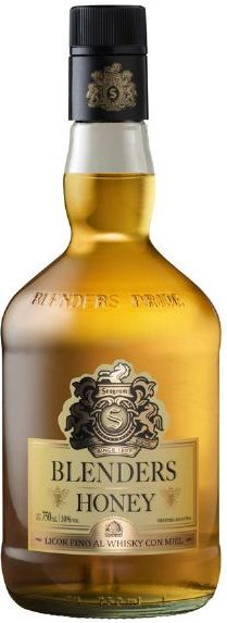 Whisky BLENDERS HONEY 750ml