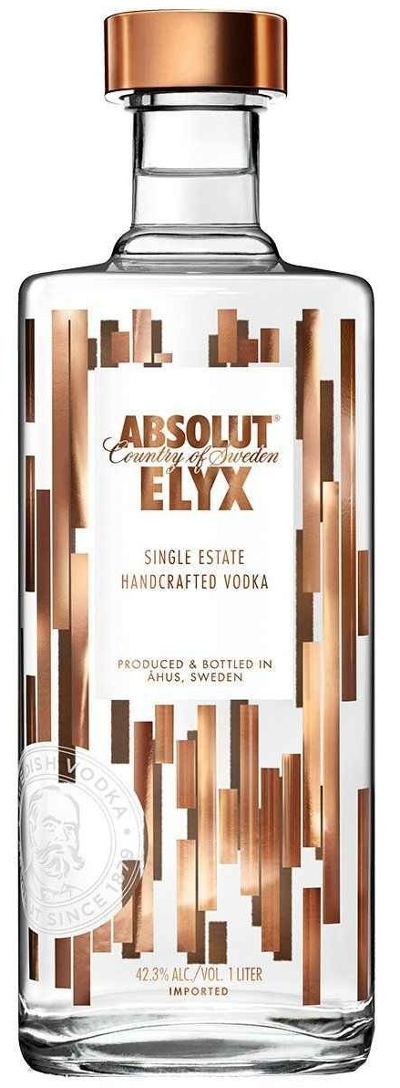 Vodka Absolut Elyx 1litro