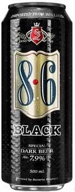 Cerveza Bavaria 8.6 Black 500ml