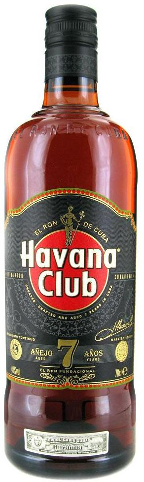 Havana club 7 years old Ron 750ML