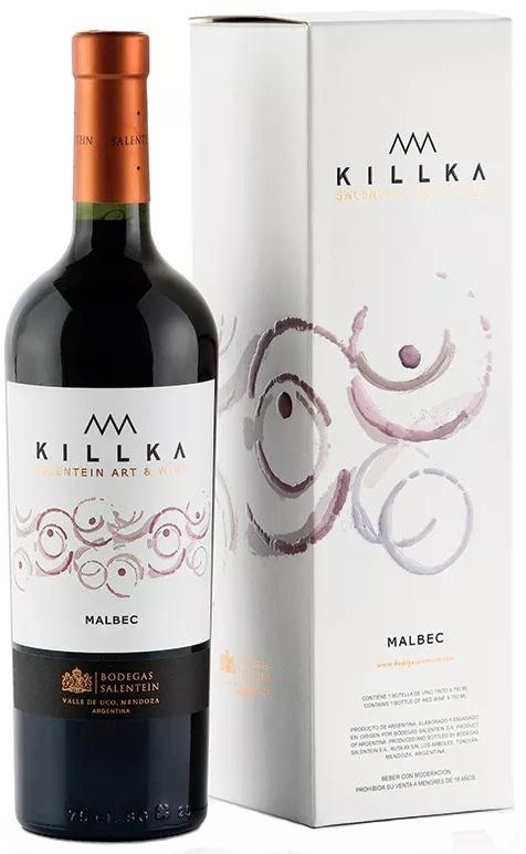 Vino Killka Estuche Malbec