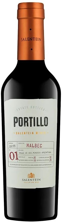 Portillo malbec 375-ml salentein - Catar Bebidas