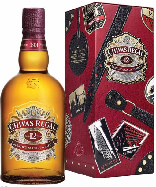 Whisky Chivas Regal 12 años Estuche 750ml